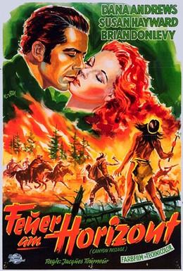 Постер фильма Проход каньона (1946)