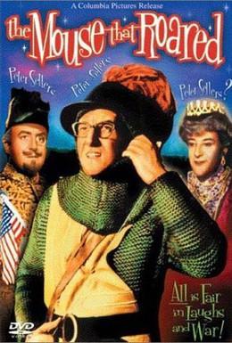 Постер фильма Рёв мыши (1959)