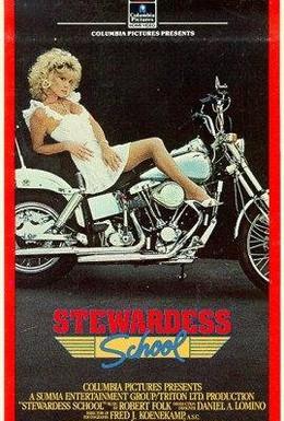 Постер фильма Школа стюардесс (1986)