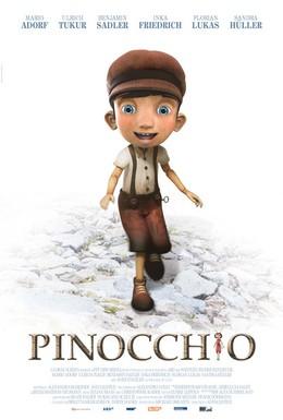 Постер фильма Пиноккио (2013)