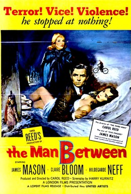 Постер фильма Человек посредине (1953)