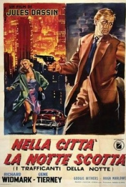 Постер фильма Ночь и город (1950)