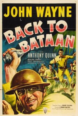 Постер фильма Возвращение на Батаан (1945)