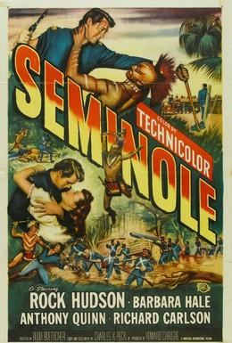 Постер фильма Семинолы (1953)