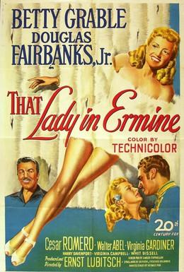 Постер фильма Эта дама в горностае (1948)