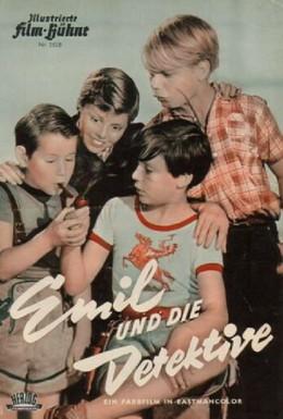 Постер фильма Эмиль и сыщики (1954)