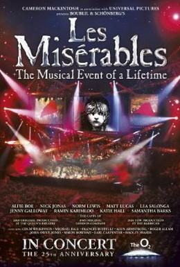 Постер фильма Отверженные: 25-ая годовщина мюзикла (2010)
