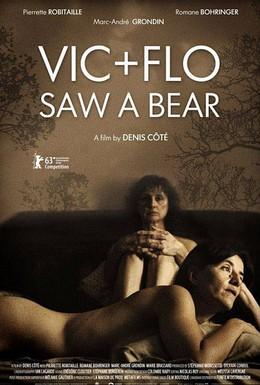 Постер фильма Вик и Фло увидели медведя (2013)