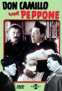 Постер фильма Возвращение Дона Камилло (1953)