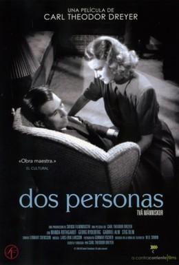 Постер фильма Два человека (1945)