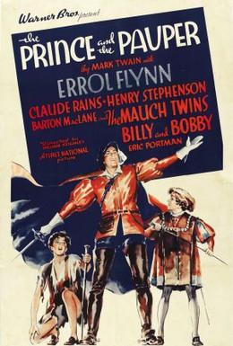 Постер фильма Принц и нищий (1937)