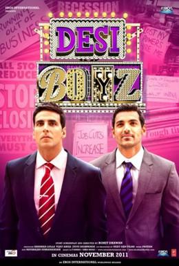 Постер фильма Настоящие индийские парни (2011)