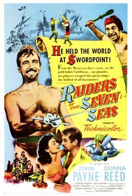Постер фильма Захватчики семи морей (1953)