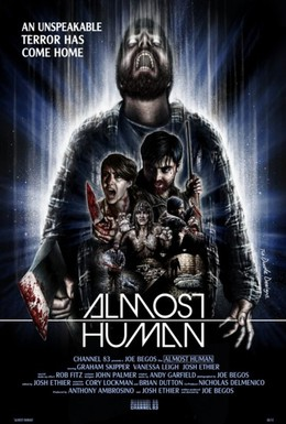 Постер фильма Почти человек (2013)
