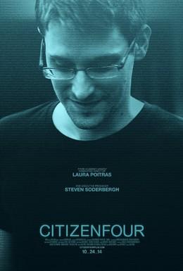 Постер фильма Citizenfour: Правда Сноудена (2014)