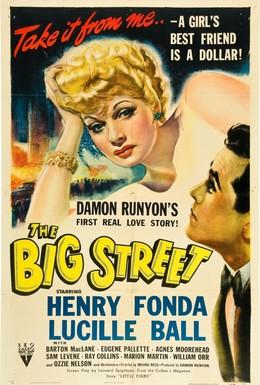 Постер фильма Большая улица (1942)