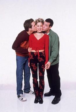 Постер фильма Два парня и девушка (1998)