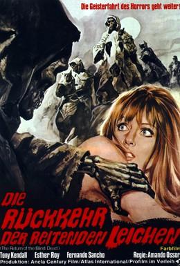 Постер фильма Слепые мертвецы 2: Возвращение слепых мертвецов (1973)
