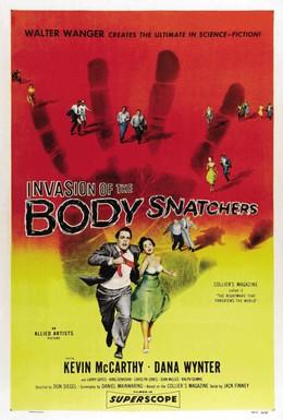 Постер фильма Вторжение похитителей тел (1956)