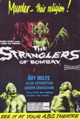 Постер фильма Душители из Бомбея (1959)