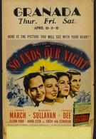 Так кончается наша ночь (1941)