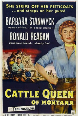 Постер фильма Королева скота из Монтаны (1954)