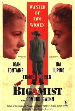 Постер фильма Двоеженец (1953)