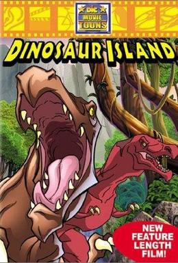 Постер фильма Остров динозавров (2002)