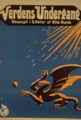 Постер фильма Конец мира (1916)