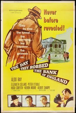 Постер фильма День, когда ограбили английский банк (1960)