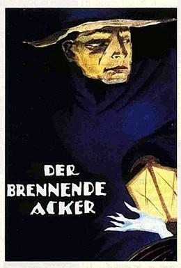 Постер фильма Горящее поле (1922)