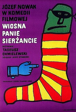 Постер фильма Весна, пан сержант! (1974)