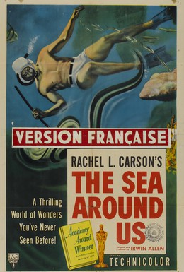 Постер фильма Море вокруг нас (1953)