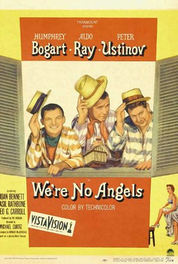 Постер фильма Мы не ангелы (1955)
