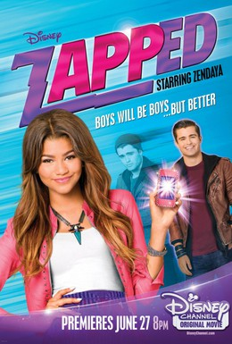 Постер фильма Zapped. Волшебное приложение (2014)