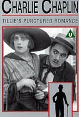 Постер фильма Прерванный роман Тилли (1914)