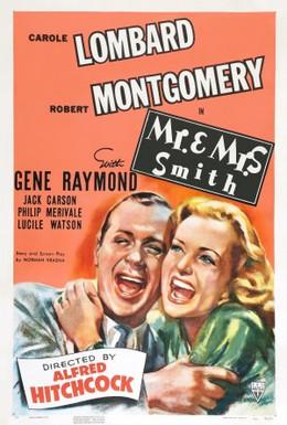 Постер фильма Мистер и миссис Смит (1941)