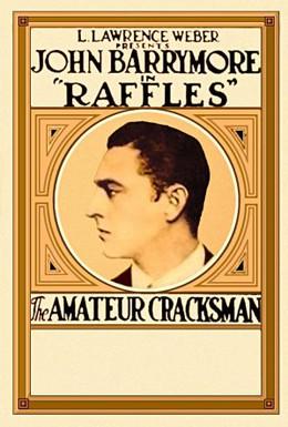Постер фильма Раффлес, взломщик-любитель (1917)