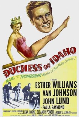 Постер фильма Герцогиня Айдахо (1950)