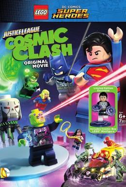 Постер фильма LEGO Супергерои DC: Лига Справедливости – Космическая битва (2016)