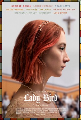 Постер фильма Леди Бёрд (2017)