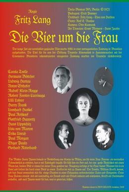 Постер фильма Четверо вокруг женщины (1921)