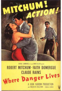 Постер фильма Где живет опасность (1950)