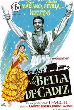Постер фильма Красавица из Кадиса (1953)