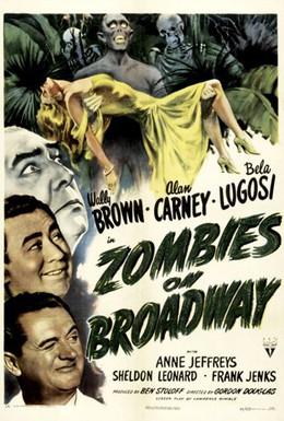Постер фильма Зомби на Бродвее (1945)