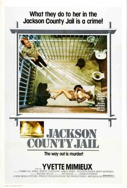 Постер фильма Тюрьма округа Джексон (1976)
