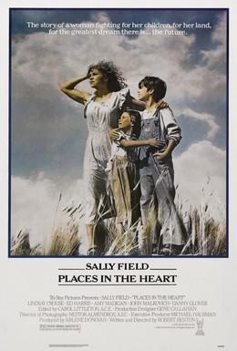 Постер фильма Место в сердце (1984)