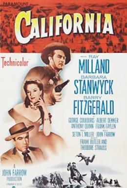 Постер фильма Калифорния (1947)