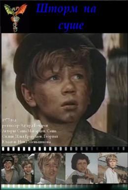 Постер фильма Шторм на суше (1975)