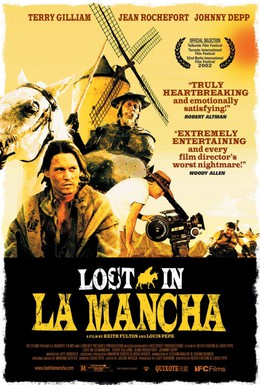 Постер фильма Затерянные в Ла-Манче (2002)